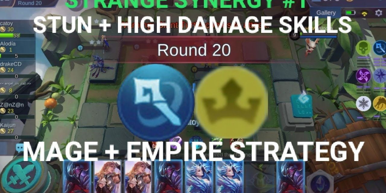 STRANGE SYNERGY MAGE EMPIRE STRATEGY CHESS TD GAMEPLAY